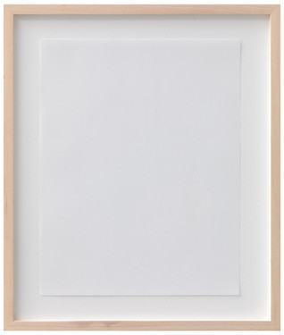 """Forbidden Thought Projected Onto Eaton, 8.5x 11"""", Light Gray, 25% Cotton Fibre, Private Stock Laid Paper 2010"""